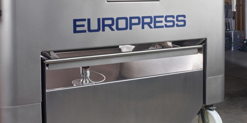 grape press Europress EP digital control system