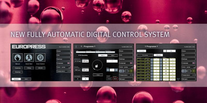Europress EP digital control system