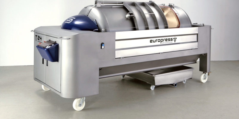 Europress grape press model T 24HL