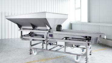 crushpad, vibration sorting table VS