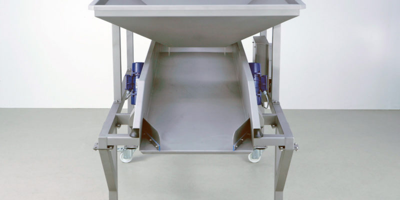 Scharfenberger Vibrating Dozing Table