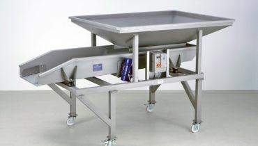 Scharfenberger Vibrating Dozing Table