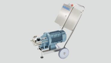 Kiesel pump impeller