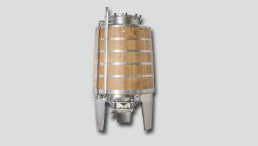 red wine mash fermantation tank with oak Shell FD-MKEH