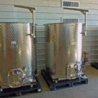 gallery tanks in wineries