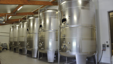 gallery tanks in wineries